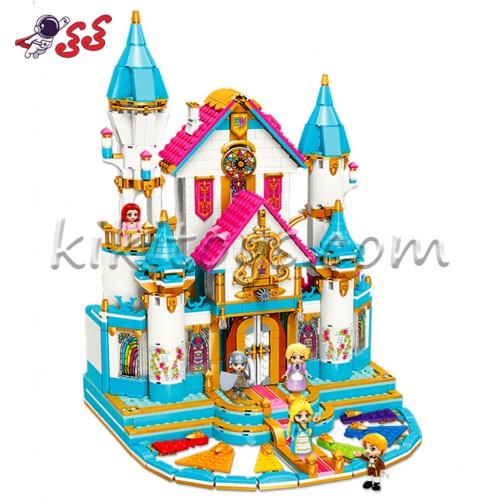 ساختنی لگو | دخترانه | قصر پرنسس Qman 32015