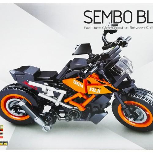 لگو ماکت موتور کی تی ام KTM SEMBO BLOCK 701124