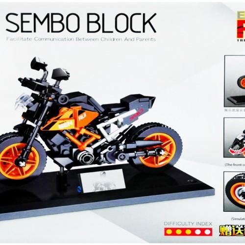 سفارش انلاین لگو موتور کی تی ام KTM SEMBO BLOCK 701124