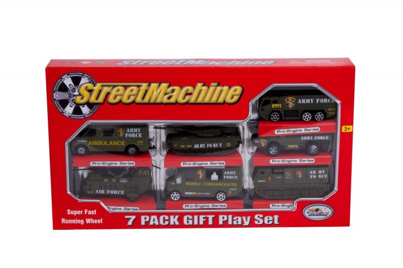 بسته ماشین اسباب بازی فلزی 7 تایی مدل 2011