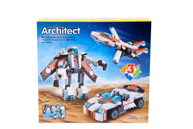لگو سه مدلی ارشیتکت ایتم 3115