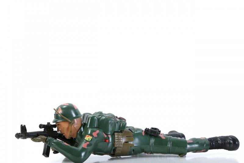 اسباب بازی سرباز جنگی سینه خیز رو مدل 911