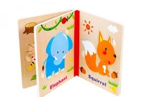 خرید پازل کتابی شش عددی طرح حیوانات جنگل