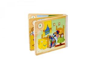 قیمت پازل کتابی چوبی شش تایی