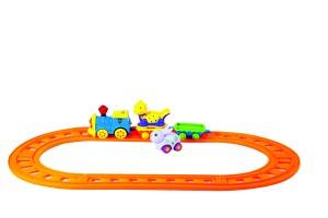 بازی قطار ریلی طرح حیواناتanimal-train-1106-1107