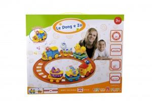 اسباب بازی پسرانه قطار ریلی ارزان animal-train-1106-1107