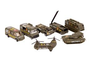 ست ماشین های فلزی جنگی مدل 2011