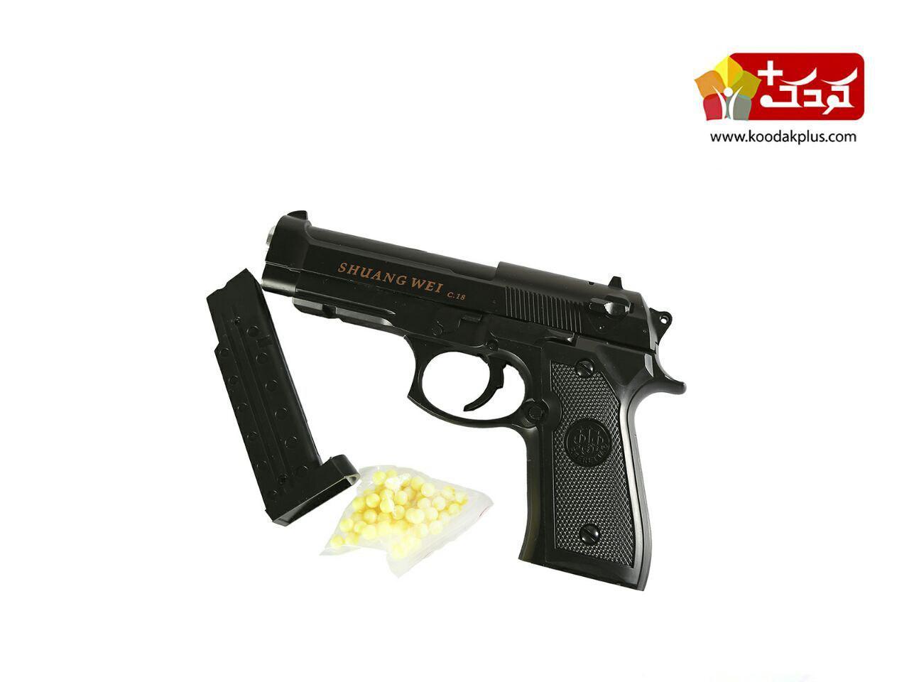 کلت ساچمه ای airsoft gun c18 کالیبر 6میلیمتر
