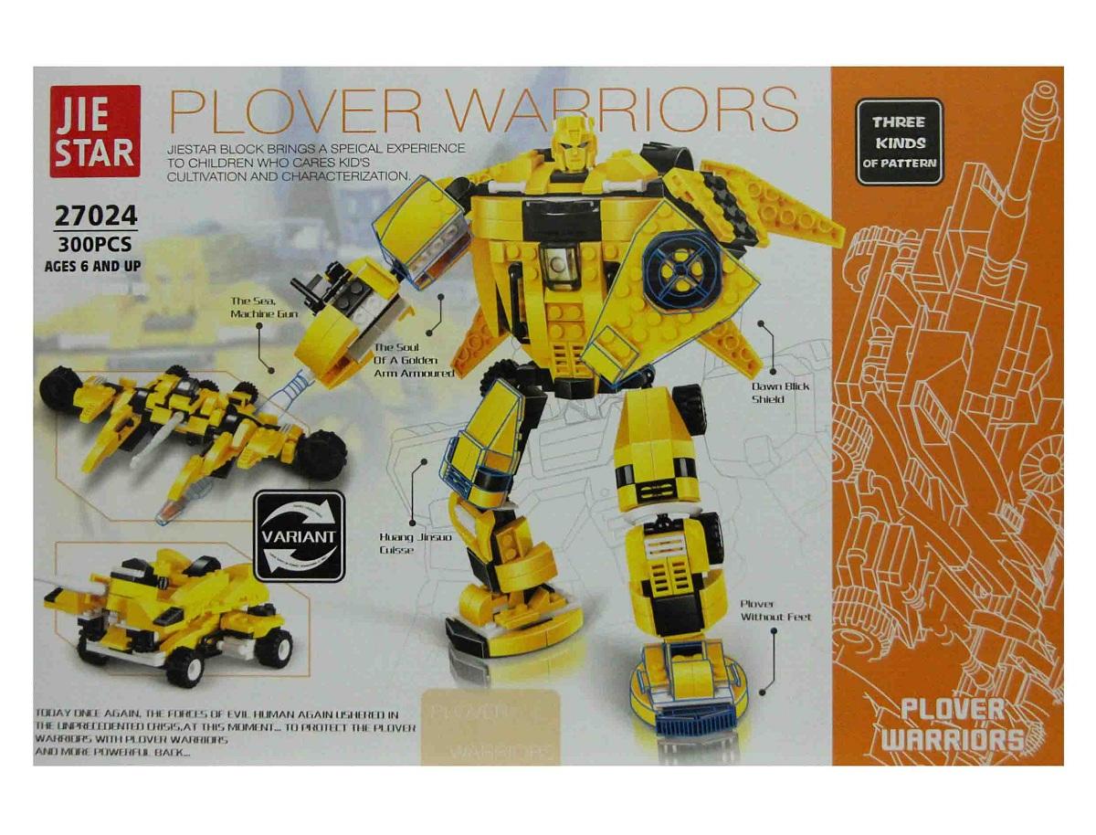 لگو سه مدلی 300 قطعه مدلplover warriors