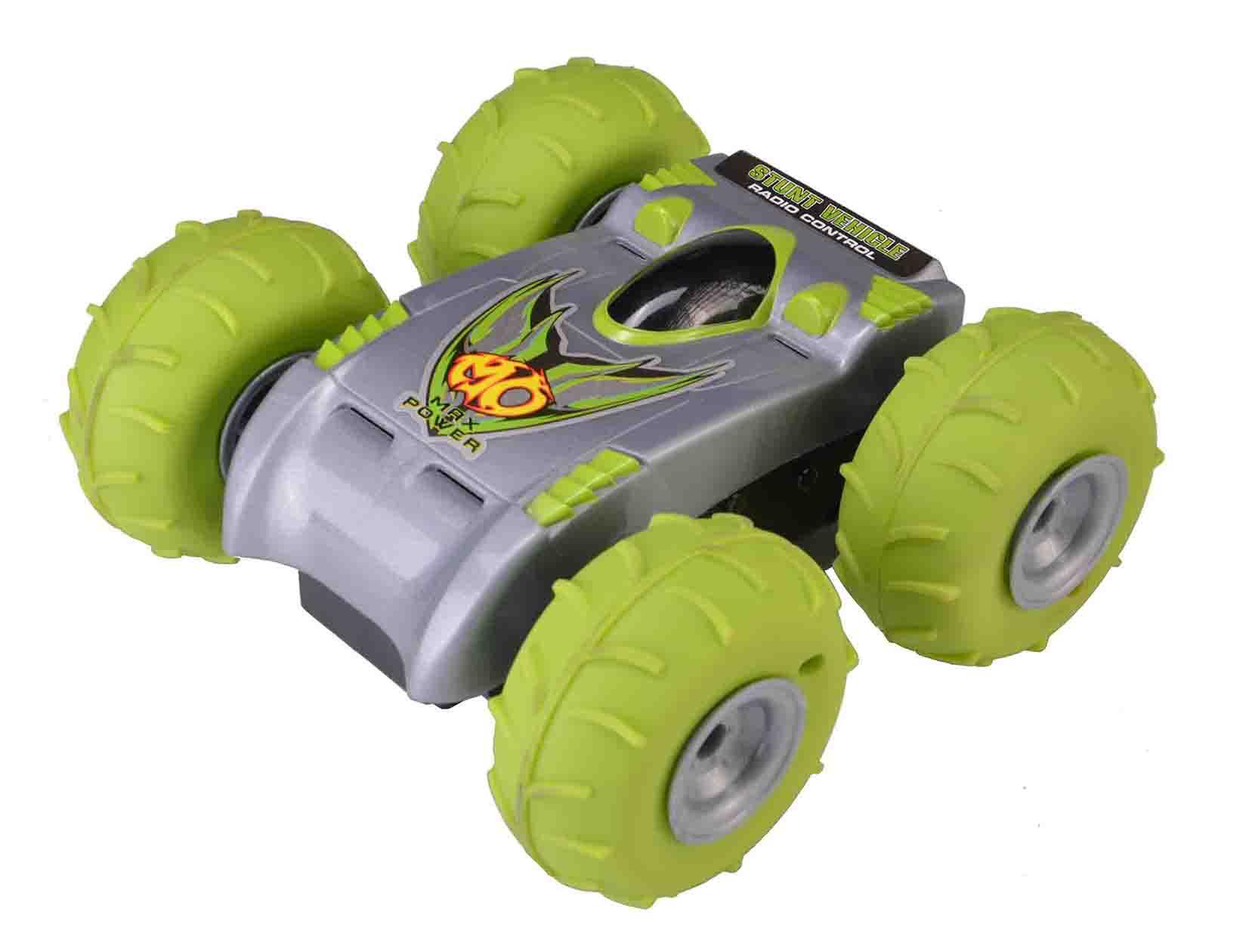 ماشین اسباب بازی آبی خاکی کنترلی