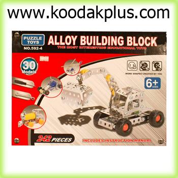 بازی فکری ساختنی چند مدلی alloy building block-592/4