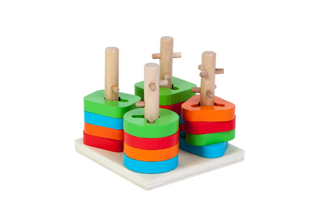 تصاویر اسباب بازی های چوبی مونته سوری