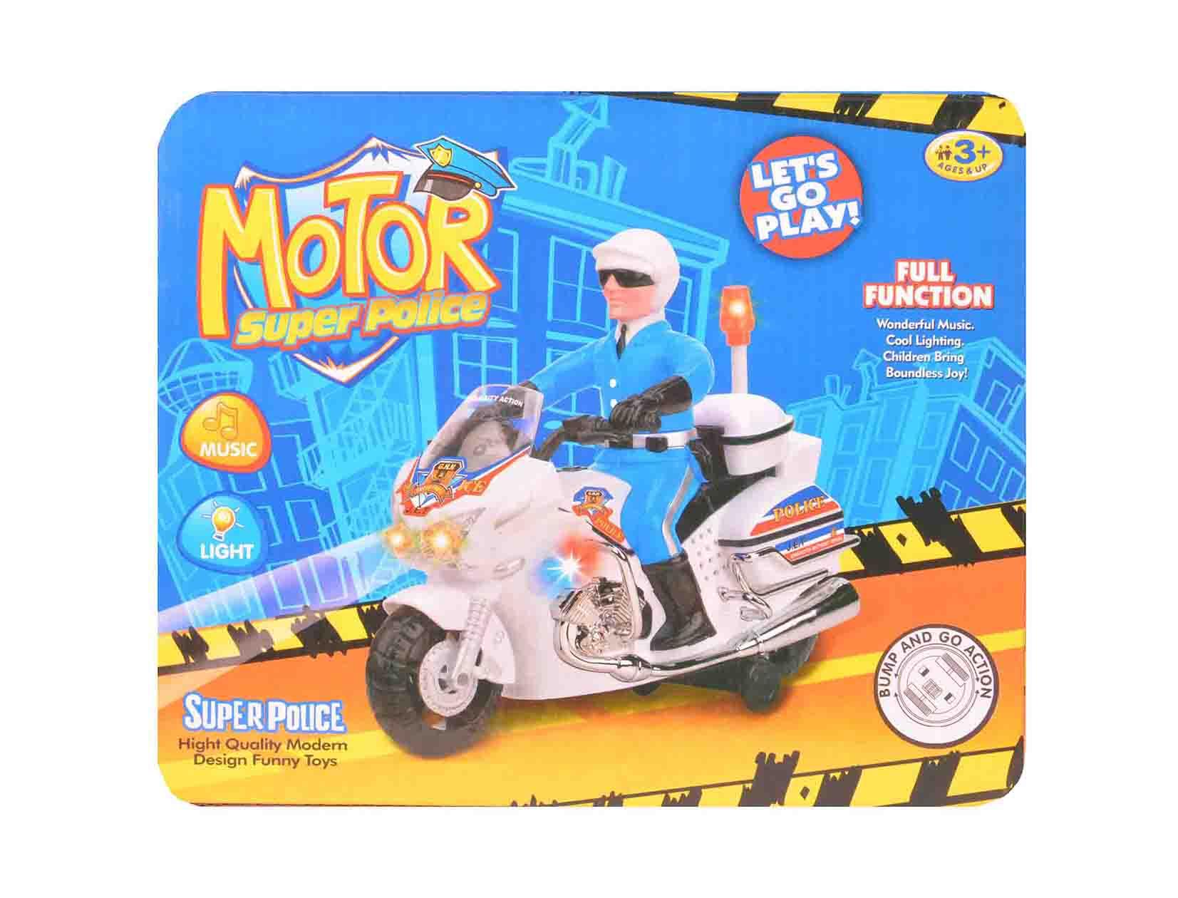 موتور موزیکال حرکتی مدل پلیس اژیری