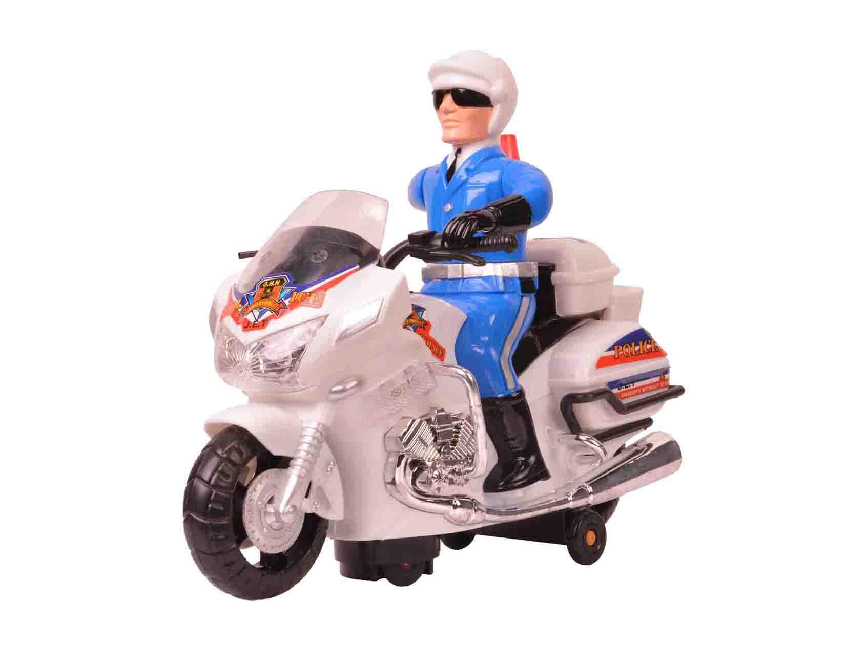 موتور اسباب بازی پلیس باطری خور