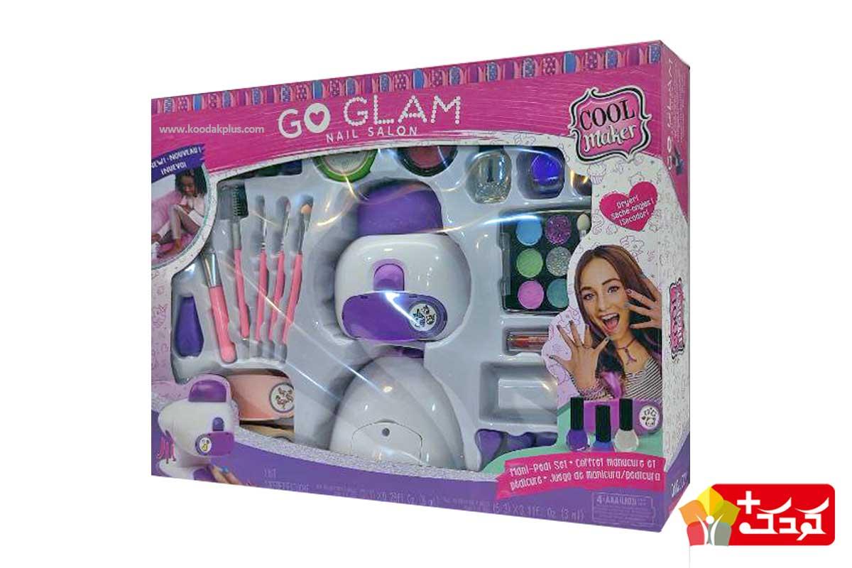اسباب بازی چاپ ناخن دخترانه
