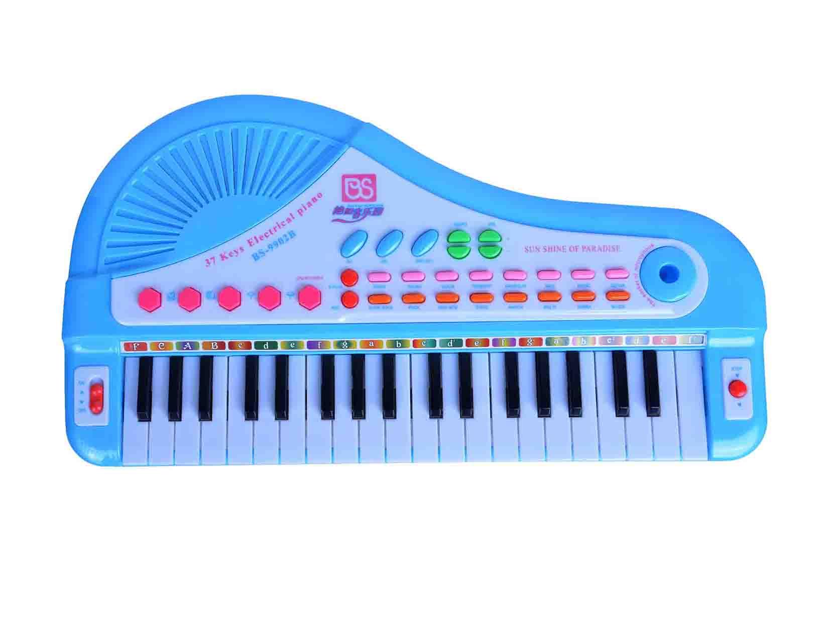 پیانو موزیکال اسباب بازی کودکان میکروفن پایه دار