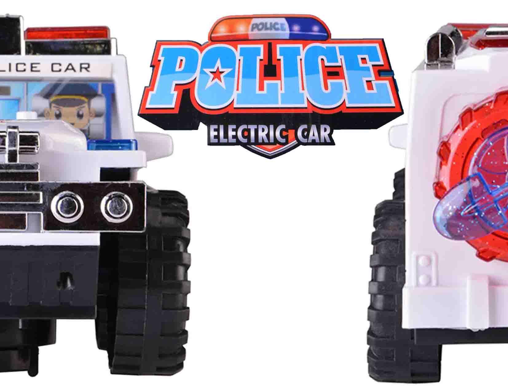 ماشین جیپ پلیس باطریی حرکتی مدل 1095