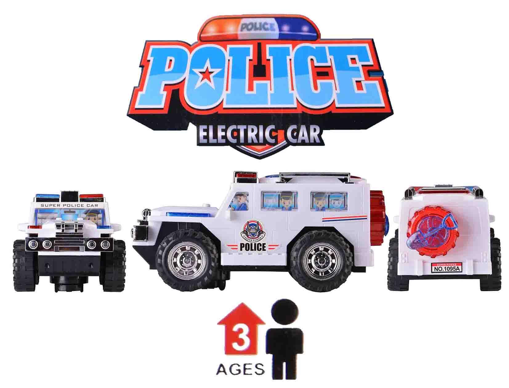 ماشین اسباب بازی پلیس موزیکال حرکتی