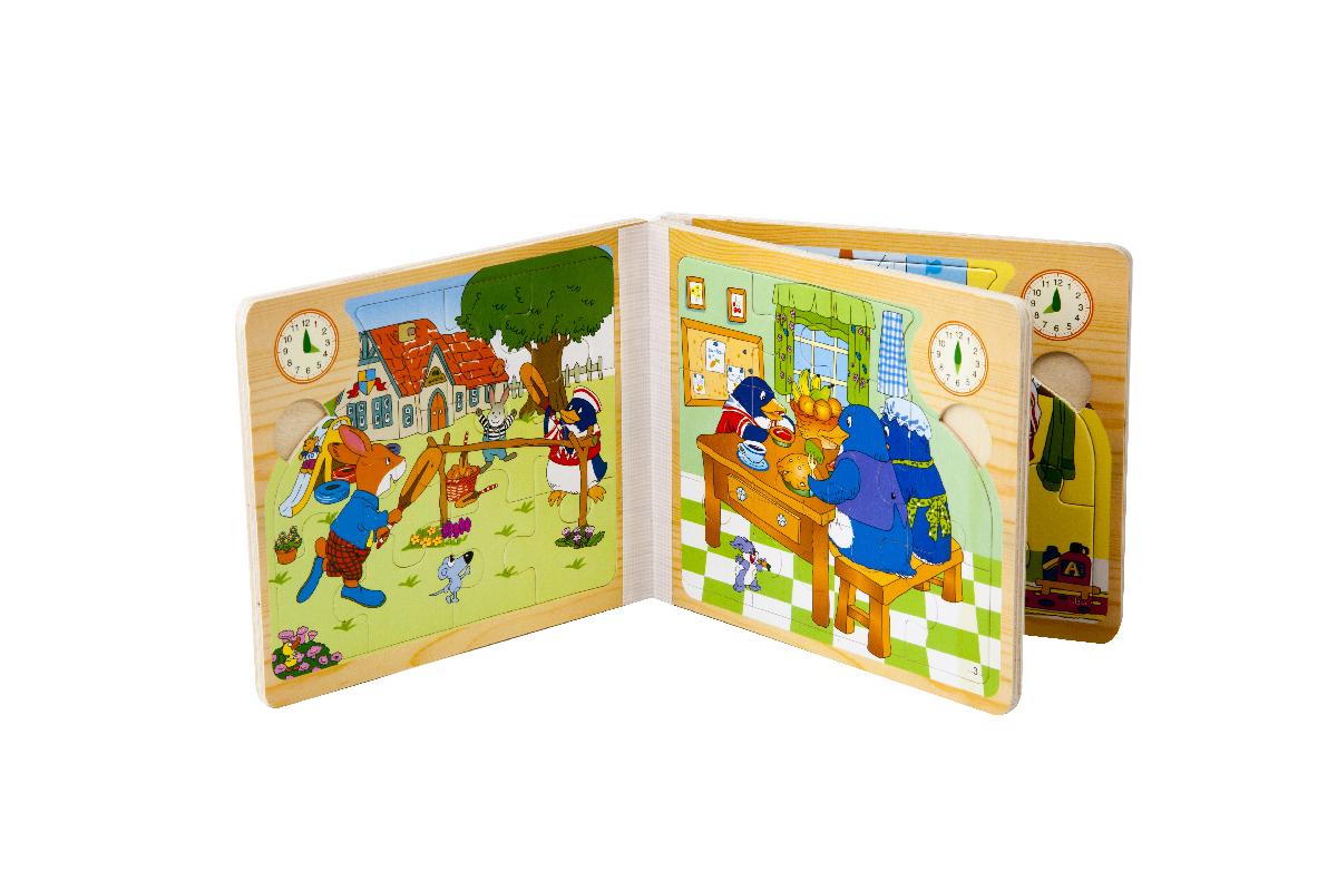 قیمت پازل کتابی شش مدلی 11 قطعه چوبیpuzzle Wooden book 2