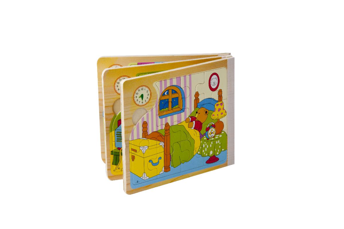 خرید پازل فکری و جورچین های چوبیpuzzle Wooden book
