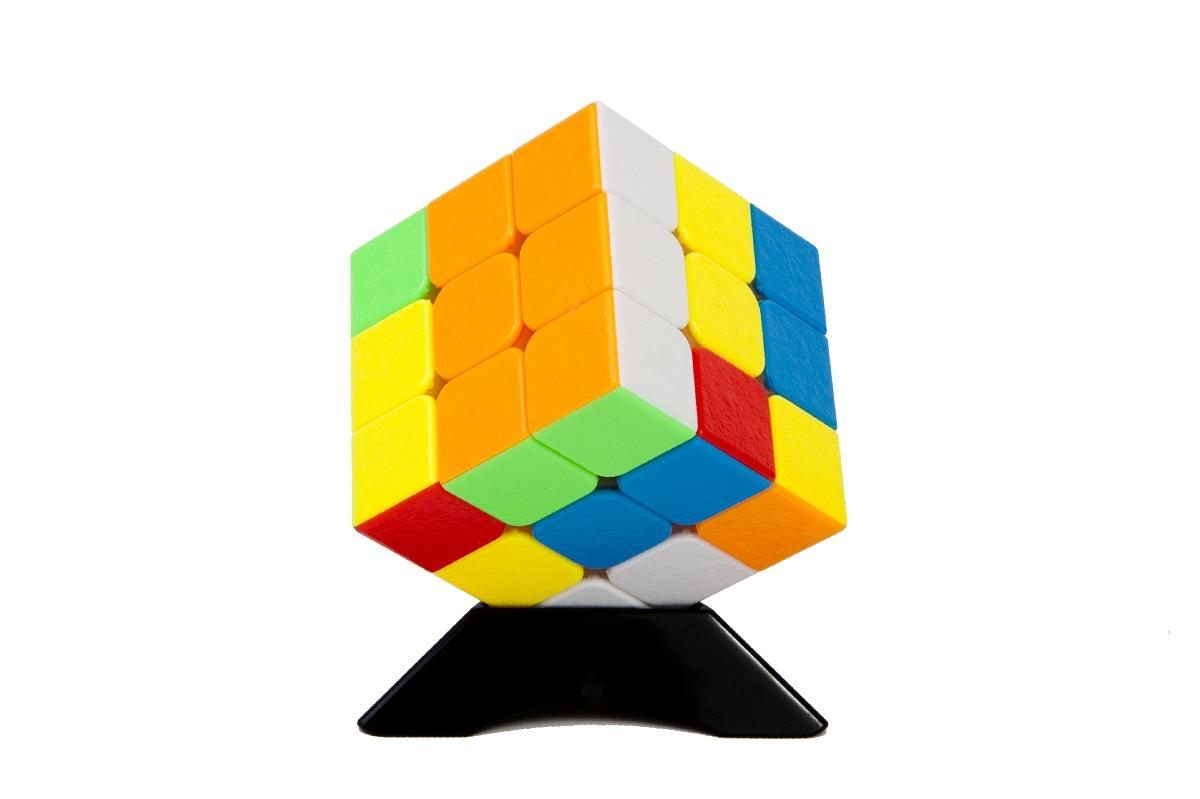 روبیک 3×3 آهنربایی رنگ ثابت برند شنگ شو مستر ام