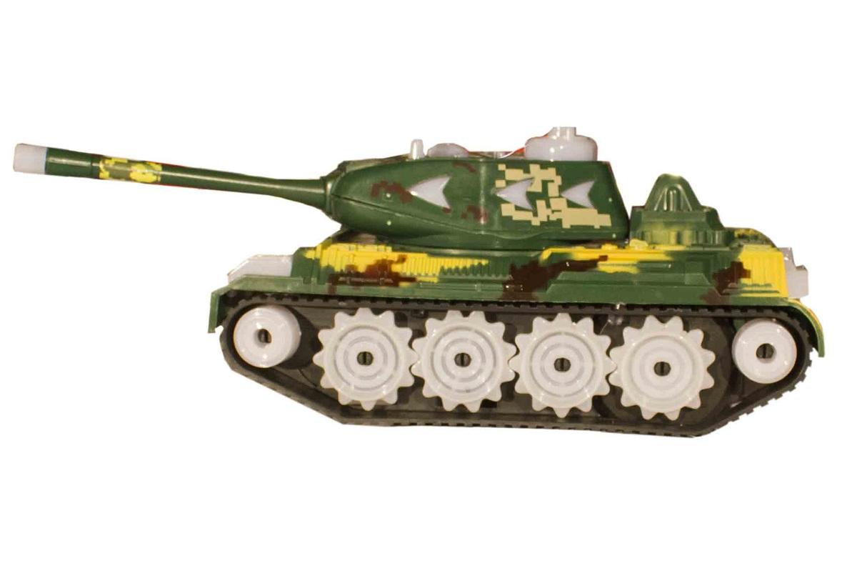 تانک اسباب بازی باطری خور موزیکال مدل tank 2039