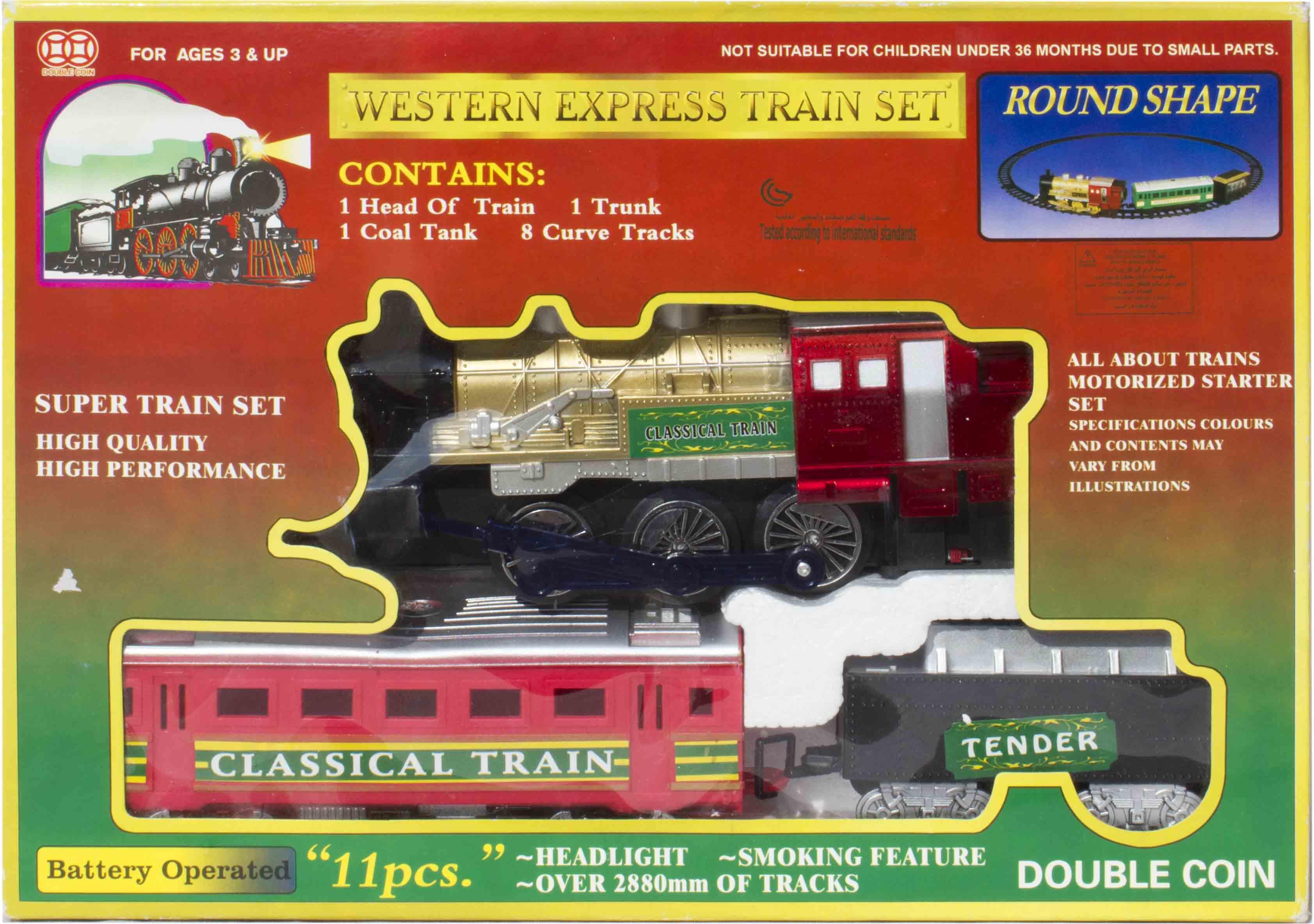 قطار ریلی باطری خور مدل واقعی