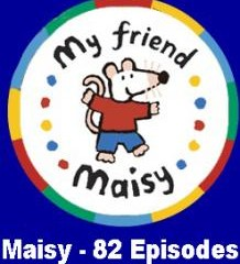 مجموعه کارتون آموزشی بسیار زیبای میسی - Maisy