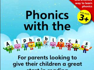 مجموعه آموزش زبان فونیکس - Phonics with the Alphablocks