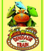 مجموعه زیبای تقویت زبان قطار دایناسورها - Dinosaur Train