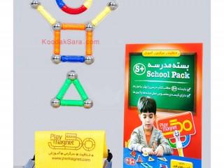 بازی مغناطیسی- بسته مدارس