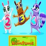مجموعه آموزش زبان بسیار زیبا و شاد نام تامز - Numtums