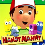 مجموعه آموزشی بسیار زیبا و جذاب هندی منی - Disney Handy Manny  + هدیه