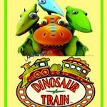 مجموعه زیبای تقویت زبان قطار دایناسورها - Dinosaur Train + هدیه