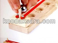 اسباب بازی چوبی توپقل