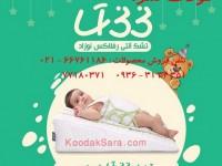 • تشک آنتی رفلاکس نوزاد. 15درجه