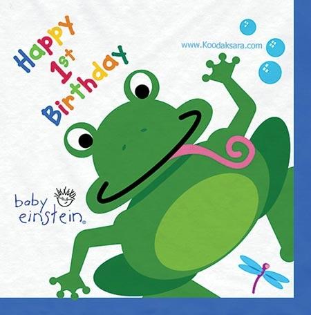 baby einstein happy 1st birthday