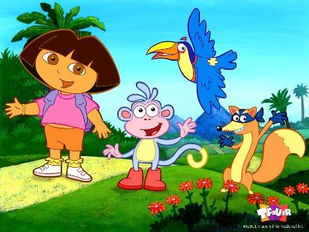 مجموعه کارتون های دورا 1 Dora The Explorer