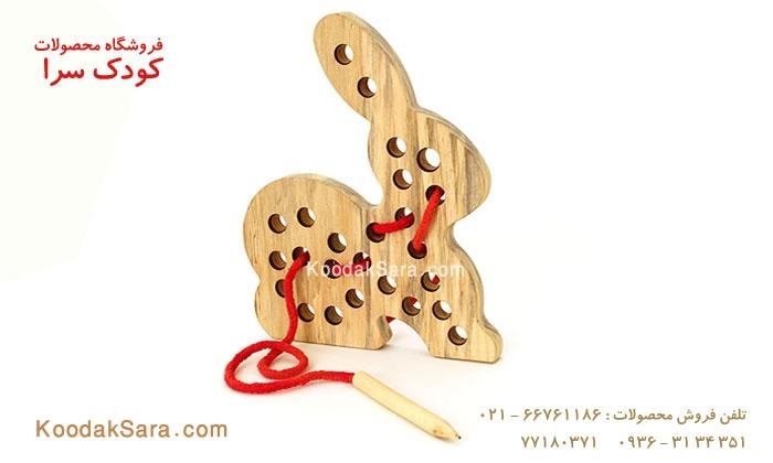 اسباب بازی چوبی کوک