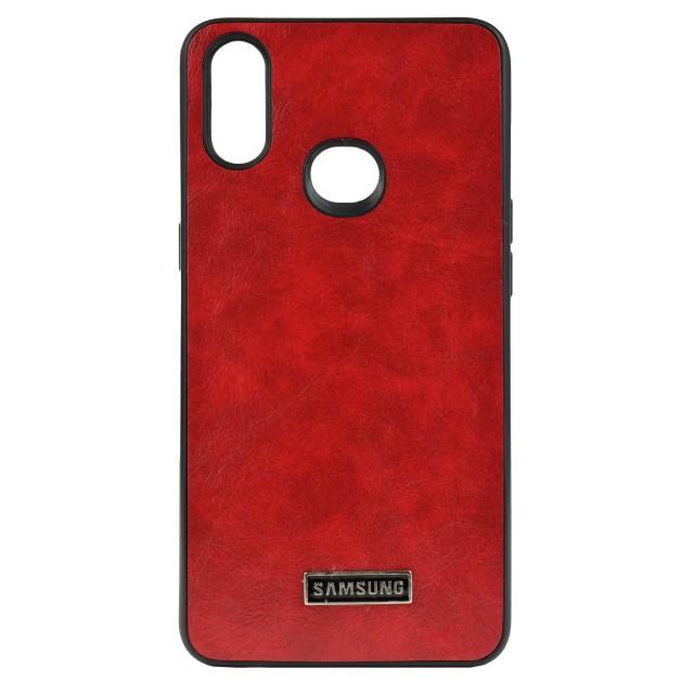 قاب گوشی طرح چرم مدل LT01 برای موبایل سامسونگ Samsung Galaxy A10S