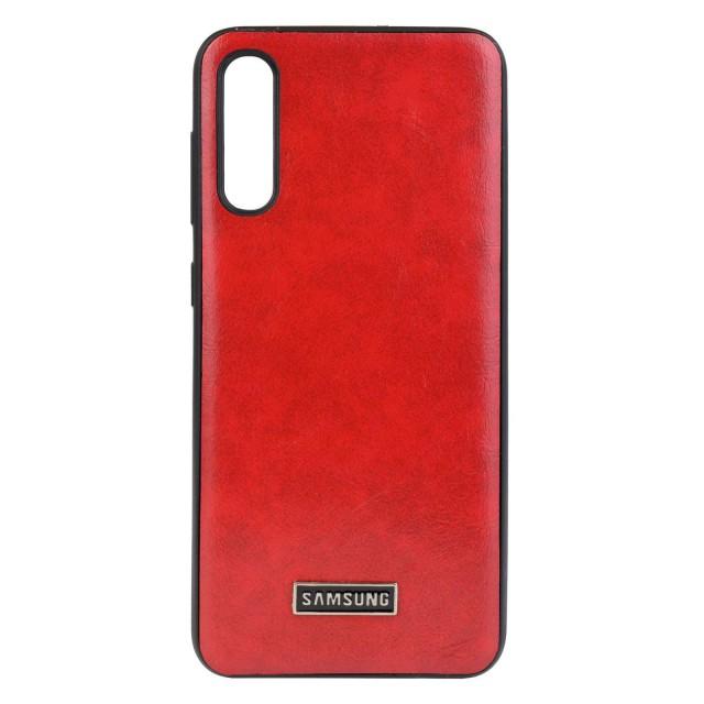 قاب گوشی سامسونگ Galaxy A50 طرح چرم مدل LT01