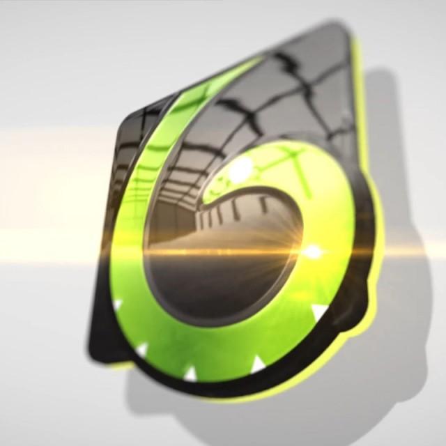 پروژه آماده افترافکت لوگو موشن Clean 3D Logo Intro