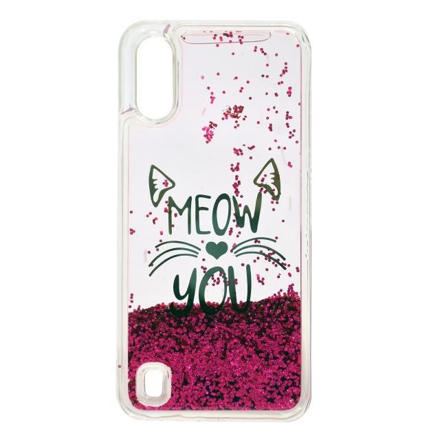 قاب گوشی اکلیلی آکواریومی مدل MEOW YOU برای موبایل سامسونگ Galaxy A01