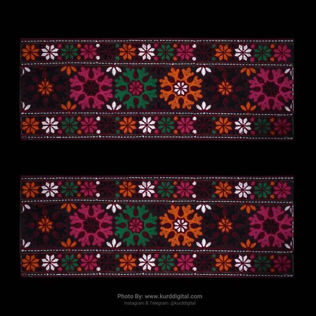 بلوچی دوزی دستی سنتی 3016