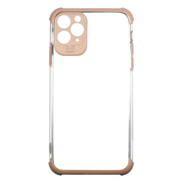 قاب گوشی اپل iPhone 11 Pro Max شفاف دور رنگی مدل DUO