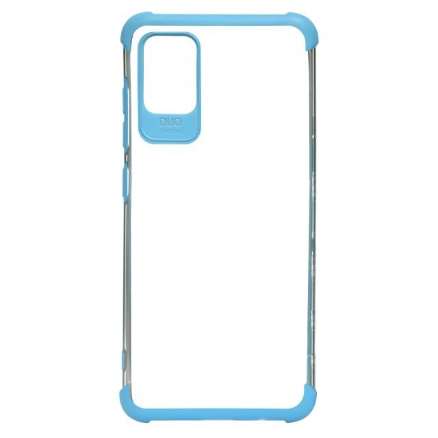 قاب گوشی سامسونگ Galaxy A51 شفاف دور رنگی مدل DUO