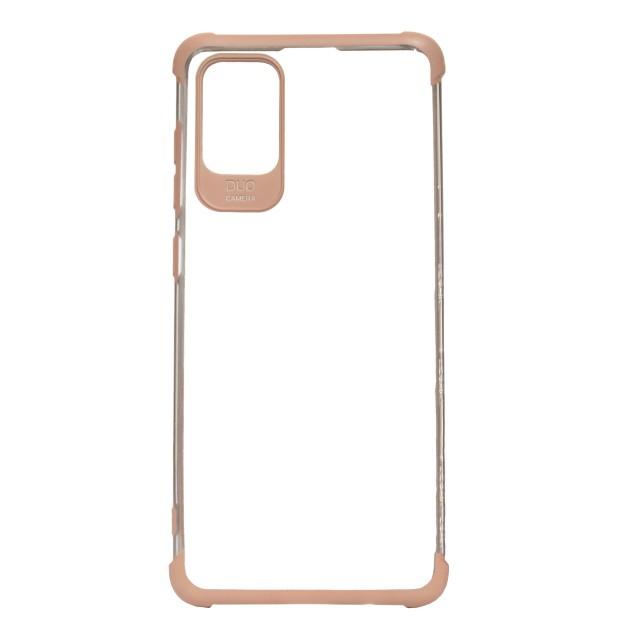 قاب گوشی سامسونگ Galaxy A71 شفاف دور رنگی مدل DUO