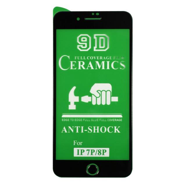 محافظ صفحه نمایش 9D سرامیکی برای موبایل اپل  iPhone 7/8 Plus