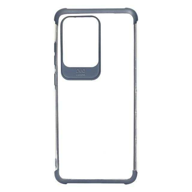 قاب گوشی سامسونگ Galaxy S20 Ultra شفاف دور رنگی مدل DUO