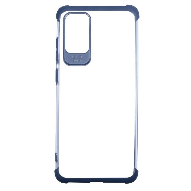 قاب گوشی سامسونگ Galaxy S20 Plus شفاف دور رنگی مدل DUO